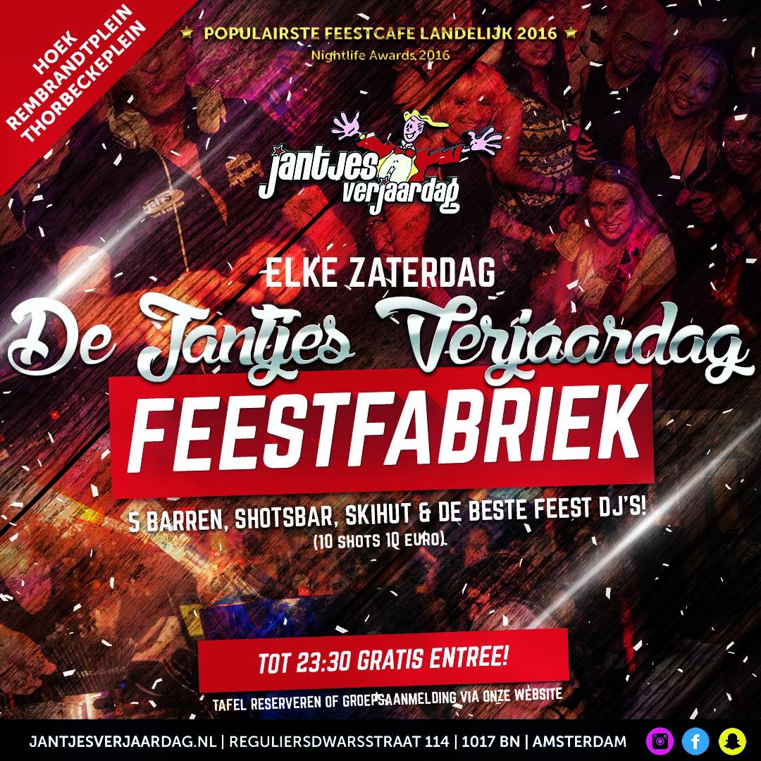 feest rotterdam beurs 9 december 2017